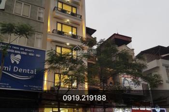 Cho thuê nhà phố Khương Đình (đối diện chung cư Five Star) 10 tầng + hầm 125m2 chính chủ 0919219188