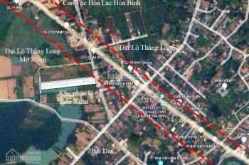 Dự án 26 lô khu tổ hợp giáo dục tiềm năng nhất Hòa Lạc