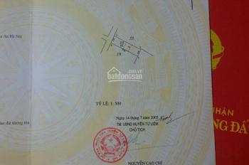 Chính chủ bán nhà đất ngay cạnh Vinhome Tây Mỗ diện tích 62m2: 0932211121