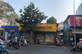 Cho thuê nhà mặt tiền Nguyễn Chí Thanh, Q. 5 ngay ngã tư Ngô Quyền 10x17m (nở hậu 12m) giá 75tr/th