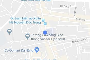 Bán đất mặt tiền Nguyễn Đức Trung, Q. Thanh Khê, DT: 5x20m, giá 8.45 tỷ
