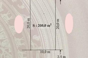 Bán lô đất 200m2 trục đường làng Vĩnh Khê. Giá đầu tư hợp lí rẻ nhất thị trường: 11,5 triệu/m2