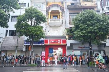 Cho thuê mặt phố view mặt hồ Hoàn Kiếm kinh doanh showroom trưng bày, đắc địa