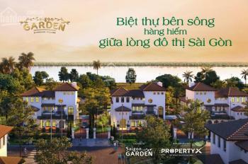 Nền biệt Thự Sài Gòn Garden Riverside Q9, từ 15tr/m2 tiện ích 5*, CK 4 + 18%, CĐT: 0908207092