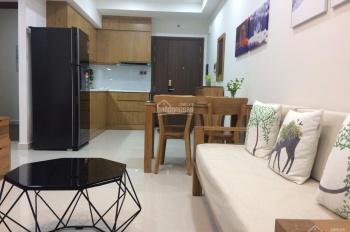 Saigon Royal 2PN 1WC đầy đủ nội thất, nhà trang trí rất đẹp, cho thuê giá chỉ 17tr/tháng