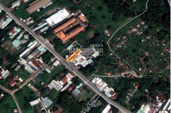 Bán đất MT Sông Lu, xã Hòa Phú, Củ Chi, DT: 5,5x37 có 120m thổ cư
