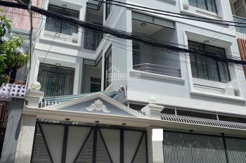Cho thuê biệt thự 3 tầng mặt tiền Phạm Đình Toái, P. 6, Quận 3, diện tích 12.5x22m, giá 80 tr/tháng
