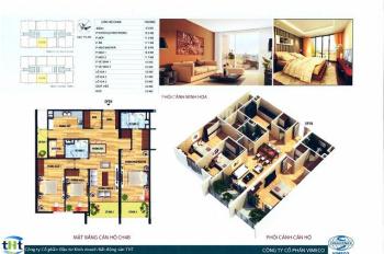 Bán chung cư CT4 Vimeco 141m2, tầng 22, nhà nguyên bản giá 29tr/m2. LH 0965 606 926