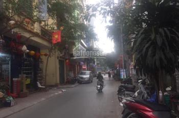 Bán nhà ngõ 145 Phố Ngọc Lâm DT 115m2 xây 5 tầng MT 6,5m ngõ ô tô tránh vỉa hè rộng, KD sầm uất