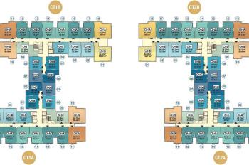 Bán căn 1502 tòa CT1A chung cư Hà Nội Homeland, 2PN, DT: 65.73m2, giá: 1 tỷ 480tr. 0358545570