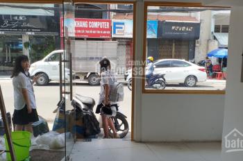 Cho thuê nhà mặt tiền Huỳnh Văn Bánh, ngay ngã tư Lê Văn Sỹ, 1 trệt 3 lầu, cầu thang cuối nhà