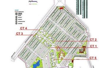Cần bán gấp căn 2PN, 68m2, cửa Tây tại chung cư CT6 KĐT Văn Khê giá 1,07 tỷ