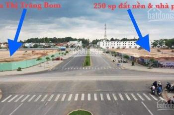 Bán đất ngay trung tâm thương mại Trảng Bom, đường 30/4 và Hùng Vương, giá rẻ vị trí đẹp như rồng