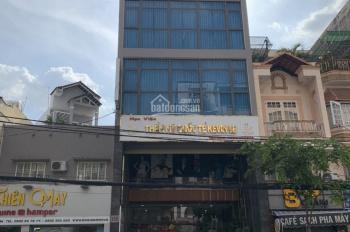 Cho thuê nhà mặt phố 6 tầng đường Trần Huy Liệu, Phú Nhuận, kinh doanh tốt, mặt tiền lớn, giá rẻ