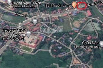 Bán lô 10m mặt đường Quang Trung