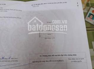 Chính chủ cần bán đất 66 m2 tổ dân phố số 8 thị trấn An Dương - Hải Phòng