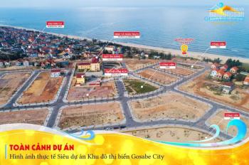 Gosabe City đất biển giá rẻ cho các nhà đầu tư chỉ 16 triệu/m2