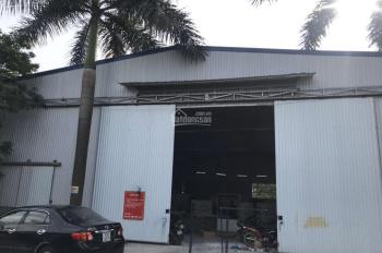 Bán kho xưởng tại phường Thụy Phương, 623m2 hiện đang làm xưởng sản xuất, chia 3 sổ, mặt tiền 17m