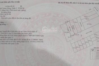 Bán đất đường 5 Nguyễn Duy Trinh, phường Bình Trưng Đông, Q. 2, giá Quận 9