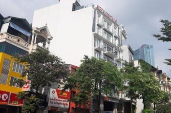 Cho thuê tòa nhà văn phòng phố 69 Đào Tấn, diện tích 230m2 xây 7 tầng 1 hầm , mặt tiền 10m