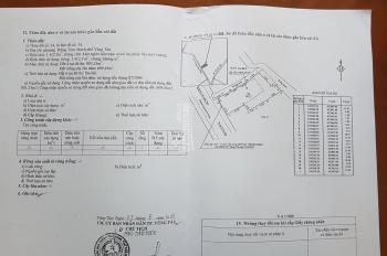 Bán lô đất vàng 1412m2 mặt tiền đường Hoàng Hoa Thám, trung tâm du lịch Vũng Tàu