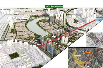 Bán đất nền LK, biệt thự dự án Đại Kim Định Công mặt đường 30m, giá gốc 50 tr/m2 - 0943.513.555