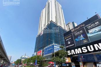 Cho thuê văn phòng hạng B tại mặt phố Nguyễn Trãi (tòa Gold Tower - Hoàng Huy)