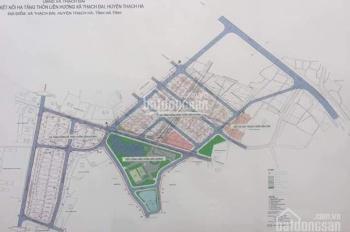 Bán đất nền dự án tại xã Thạch Đài. Đối diện khu quy hoạch Vincom tỷ đô