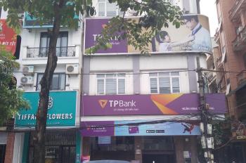 Cho thuê nhà mặt phố Lò Đúc, Hà Nội. DT 45m2x4 tầng và 1 tum, mặt tiền 3m, thiết kế mỗi tầng 2p