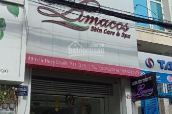 Cần bán gấp nhà mặt tiền Phan Văn Trị, khu kinh doanh spa, nhà 3 lầu, giá 14.2 tỷ