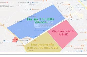 Bán đất đấu giá đối diện Vincom Hà Tĩnh, liên hệ 0985632757