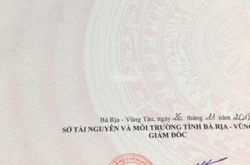Cần bán lô đất mặt tiền đường Trần Xuân Độ, phường 6, TP. Vũng tàu. DT: 0888313179