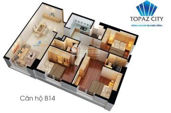 Chính chủ cần bán gấp căn hộ 3PN Topaz City giá tốt