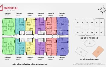 Chính chủ cần bán căn 1505 IP2, 3 phòng ngủ 112m2 tòa IP2 dự án Imperial 360 Giải Phóng. Giá 2.9 tỷ