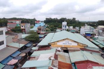 Bán đất 2 mặt tiền ngay chợ Hòa Phú, Tỉnh Lộ 8, Bến Than, 85m2, gía 1 tỷ 350 triệu