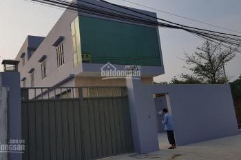 Cho thuê nhà kho mới xây dựng xong tại Nguyễn Kim Cương gần trung tâm Huyện Hóc Môn