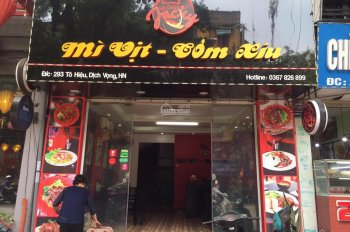 Cho thuê gấp mặt bằng Trần Huy Liệu 80m2 thông sàn đối diện Cộng Cafe, gần Khách Sạn Hà Nội