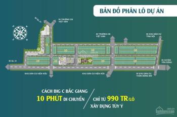 Chính thức mở bán đất nền dự án khu đô thị Dĩnh Trì Bắc Giang giá đầu tư cực tốt 0985434394