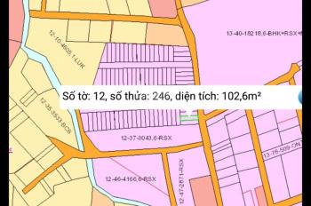 Bán lô đất 5x20m, sổ hồng thổ cư, thuộc Hố Nai 3, Trảng Bom