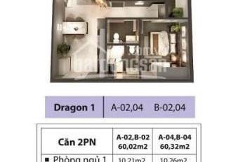 Căn hộ 60m2 2PN 2WC, giá thuê 7tr/tháng tặng sofa và tủ lạnh, HĐ thuê dài hạn. 0817241211