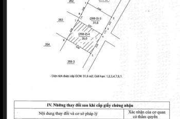 Bán 31.6m2 đất Tư Đình, phường Long Biên, Long Biên, HN, hướng Đông Nam, 1.64 tỷ