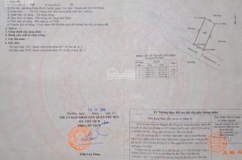 Bán nhanh lô đất đường 27, Hiệp Bình Chánh, Thủ Đức gần Phạm Văn Đồng, vị trí đẹp