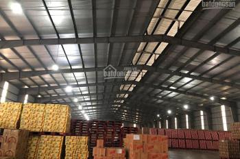 Cho thuê gấp kho bãi giá rẻ mùa dịch tại Hưng Yên gần sát Quốc Lộ 5, LH: 0971212223