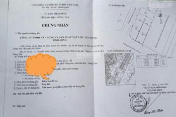 Cần bán lô đất xây biệt thự, đường nội bộ 3/2 khu Bình Minh, P8, Tp Vũng Tàu