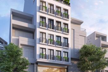 Khách sạn mặt phố Hàng Trống mới hoàn thiện muốn cho thuê, 57 phòng, DT: 240m2 x 8 tầng, MT: 9m