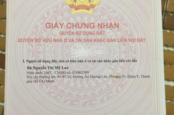 Bán nhà mặt tiền đường Phường 5 - TP Vĩnh Long