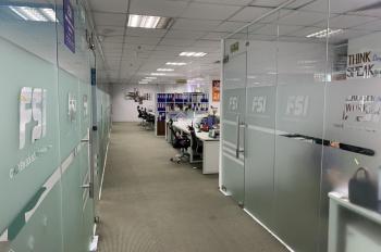 Cho thuê văn phòng tòa CTM Cầu Giấy, 400m2 sẵn đồ (Chỉ 230 ng/m2/th full VAT, dịch vụ) - 0917881711