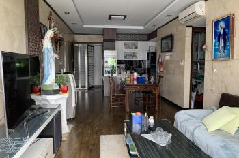 Bán căn hộ 3 phòng ngủ + 1, 98m2, căn góc có ban công, có sổ hồng, tầng 9 đầy đủ nội thất nắng sáng
