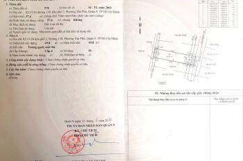 Cần bán nhà hẻm 82 đường 138, phường Tân Phú, Q.9 gần bến xe Miền Đông mới