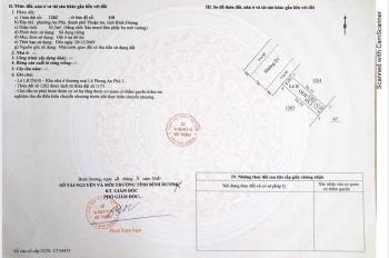 Kẹt tiền cần bán gấp đất 2 mặt tiền vòng xoay An Phú, TP. Thuận An chỉ 1,6 tỷ/nền